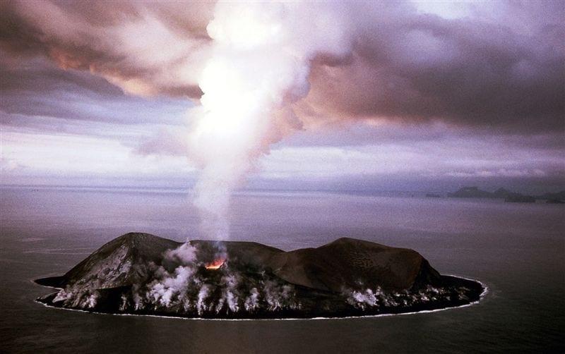 Surtsey volcano Vestmannaeyjar