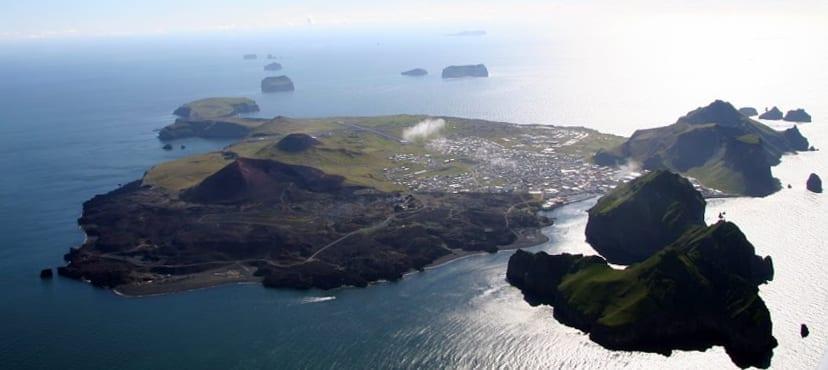 Air drone vestmannaeyjar