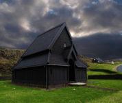 Skansinn Church Vestmannaeyjar Westman Islands
