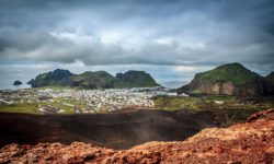 View from Eldfell - Vestmannaeyjar - Westman Islands