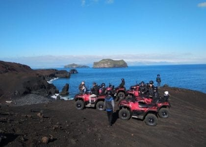 Volcano ATV Tour Westman Islands
