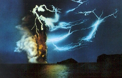 Surtsey 1963 - Volcanic Eruption Westman Islands