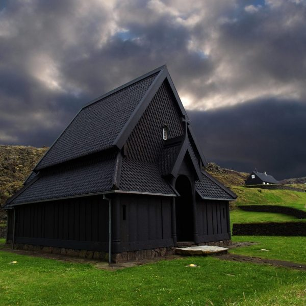 Skansinn Church Vestmannaeyjar Westman Islands