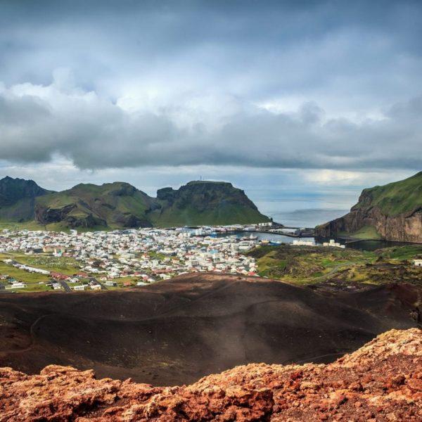View from Eldfell - Vestmannaeyjar - Westman Islands