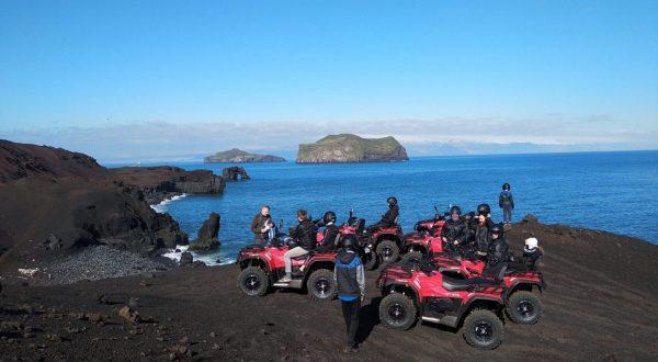 Volcano ATV tour Westman Islands - Vestmannaeyjar