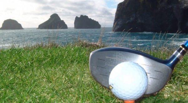 Golf on Westman Islands / Vestmannaeyjar